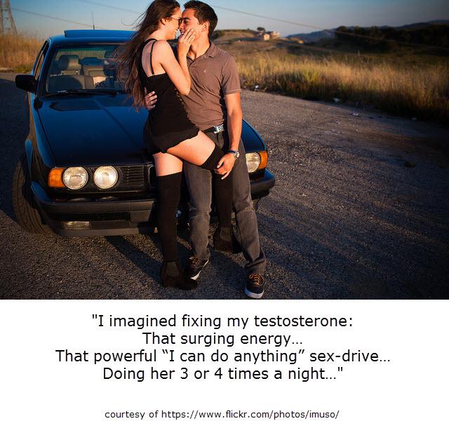 testosterone surge
